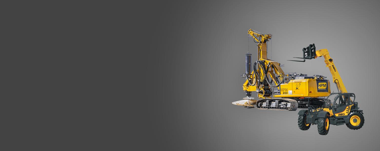 Telehandler and Drill Rig Rentals | Blaze Equipment